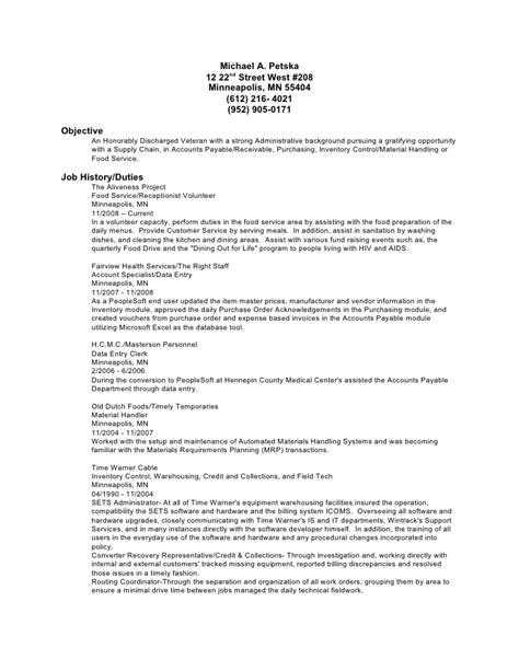 material handler resume resume ideas