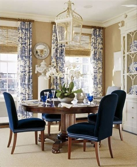 Navy And White Chair Design Ideas Pin By Yellow Company On Dining Room