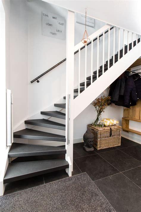 open trap bekleden met hout 25 beste idee 235 n over trapleuningen op pinterest trap