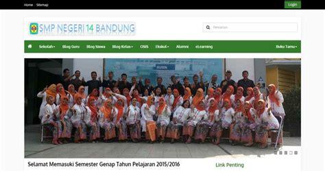 sekolah design di indonesia 20 design terbaik website sekolah di indonesia tahun 2016