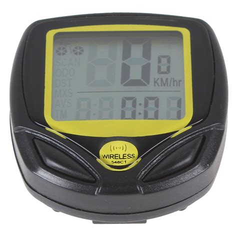 Speedometer Wireless wireless lcd digital cycle bike smart bicycle speedometer