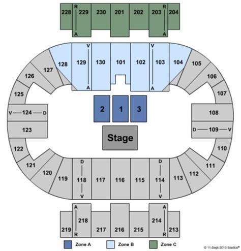 pensacola bay center seating pensacola bay center tickets in pensacola florida seating
