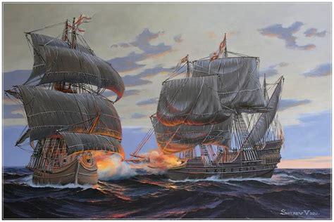 barco pirata ingles combate de gale 243 n espa 241 ol contra barco ingl 233 s de piratas
