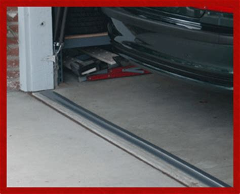 garage door sealer park smart garage door threshold seals
