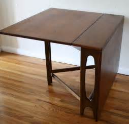 marvelous Gateleg Table With Folding Chairs #4: danish-folding-dining-table-3.jpg