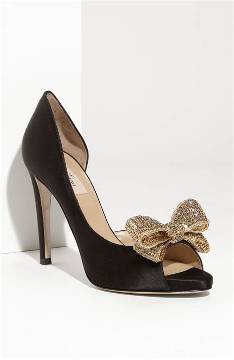 valentino bow shoes brainy mademoiselle bow pumps