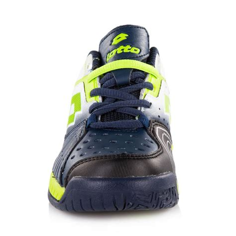 lotto raptor ultra iv junior tennis shoe aviator fluogreen
