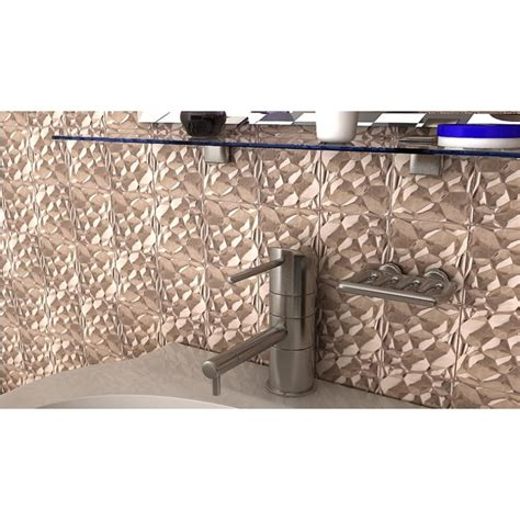 metallic mosaic tile stainless steel tile patterns kitchen