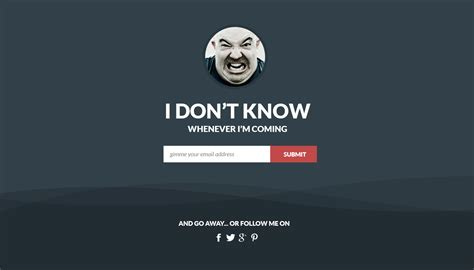 Flat Coming Soon Landing Page Template Free Psd Psdexplorer Coming Soon Landing Page Template