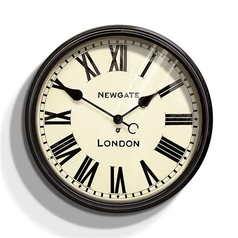clock buy buy newgate clocks the battersby wall clock large amara