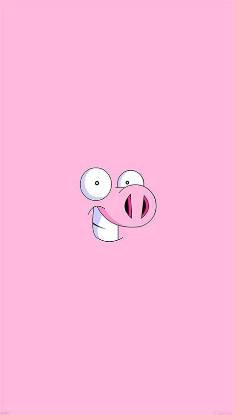 Pig Minimal Illustration Iphone All Hp Iphone6papers Co Apple Iphone 6 Iphone6 Plus Wallpaper