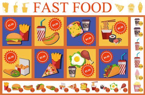 food court menu design food court infographics