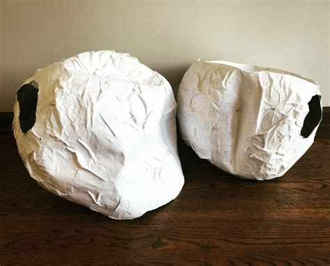 How To Make A Paper Mache Rock - diy costume paper mache rocks