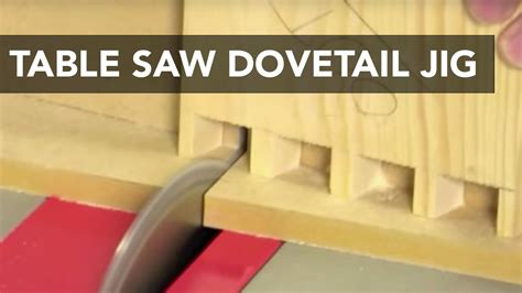 table  dovetail jig youtube