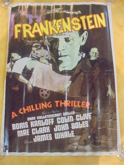 frankenstein the two hundred years books 1976 frankenstein poster february consignment 1