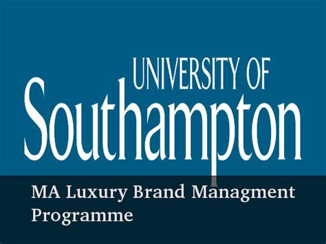 Luxury Brand Management Mba Essec by Study Ma Luxury Brand Management At Of