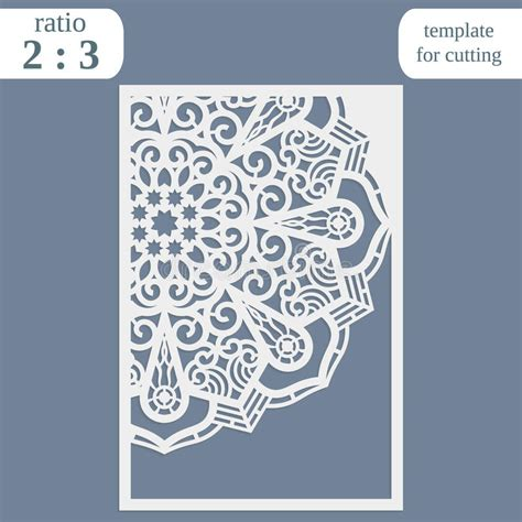 paper lace templates card laser cut wedding card template paper openwork greeting