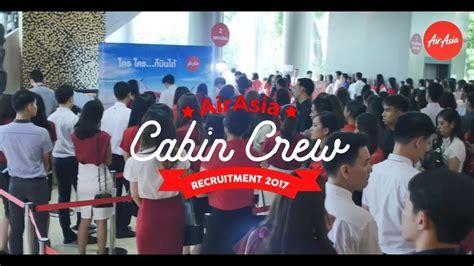 airasia recruitment airasia cabin crew recruitment youtube