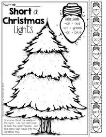 Color the christmas lights according to the code cut and paste your