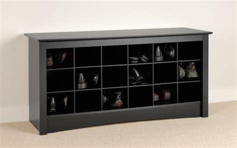 shoe storage cubbie bench black walmart canada