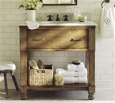 Pottery Barn Bathroom Vanity Pottery Barn Sink This I Am Thinking Of Ways To Bring Baskets To The Bathroom Bathroom