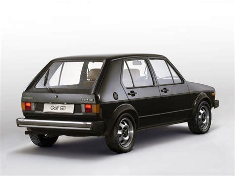 Vw Golf Gti 5 Door by Volkswagen Golf I Gti 5 Door 1976 1983 Volkswagen Golf I