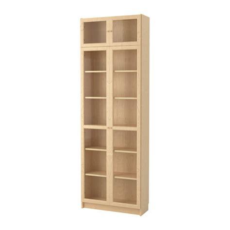 Ikea Finnby Rak Buku Warna Hitam Ukuran 60 X 180 Cm billy oxberg rak buku veneer kayu birch ikea