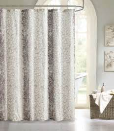 beige fabric shower curtain images