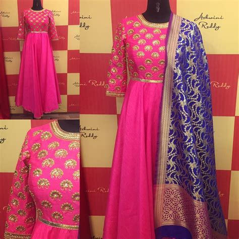 pink colour combination dresses our favorite color combination pink navyblue long