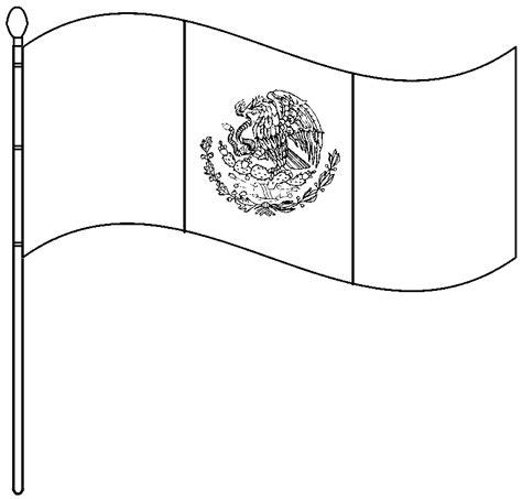 imagenes para colorear bandera de mexico dibujos para colorear de la bandera imagui