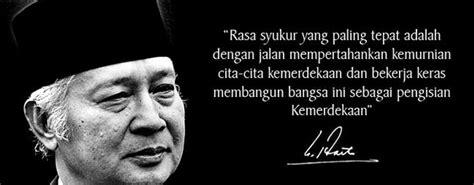 Anak Desa Biografi Presiden Soeharto 1 kata kata bijak soeharto dalam bahasa inggris dan artinya
