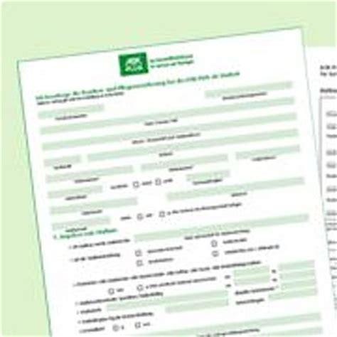 Vorlage Antrag Mutterschaftsgeld Krankenkasse Formulare Und Antr 228 Ge Aok Plus
