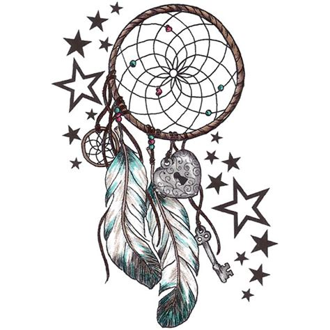 quot body art quot temporary tattoo dream catcher feathers