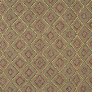 Southwest Style Upholstery Fabric J751 Southwest Style Diamond Upholstery Fabric Burgundy