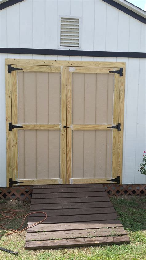Diy Shed From Old Doors