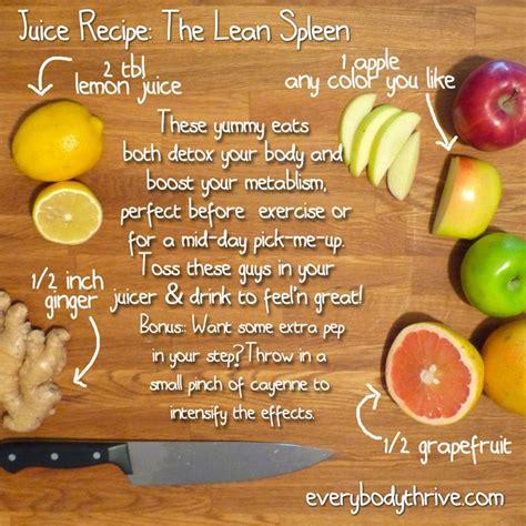 Spleen Detox Juice by The Lean Spleen Juice Recipe Do You A Lean Spleen