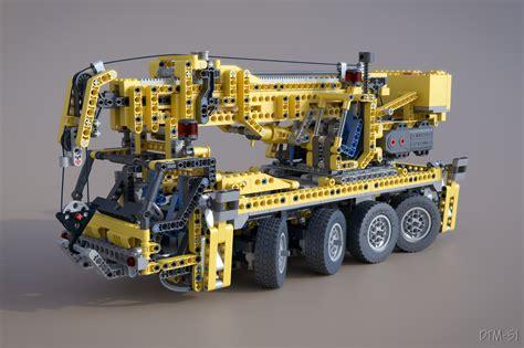 lego technic 8421 mobile crane lego mobile crane 8421 blendernation