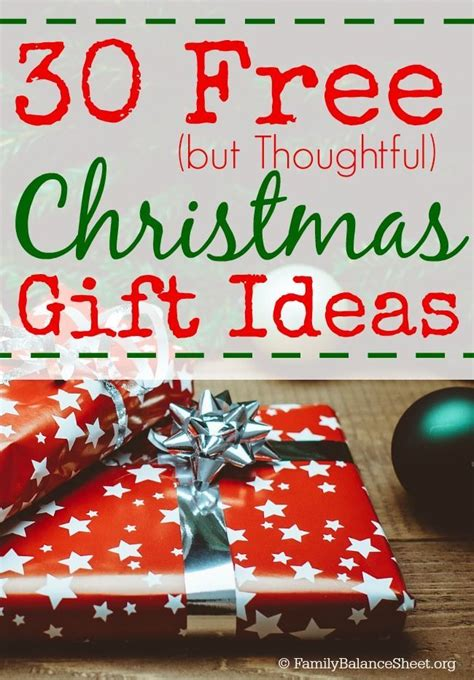 30 free but thoughtful christmas gift ideas feathers