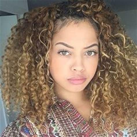 can u dye lord cliff afropuff hair inspiration mixed beauty curly girls pinterest