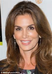 Cindy Crawford posts throwback picture from first ever modeling contest   Daily Mail Online