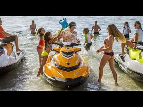 seadoo boat tricks the 2017 sea doo lineup youtube