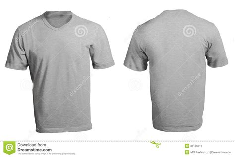 Kaos Black Id 6 Free 1 s blank grey v neck shirt template stock image image