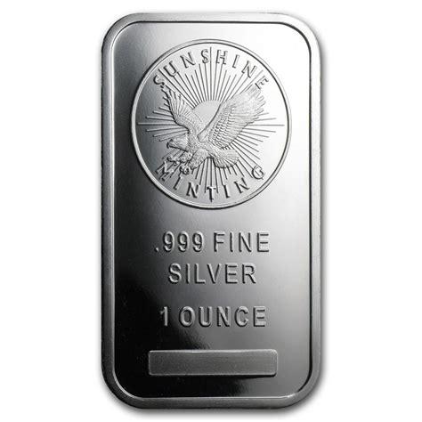 1 oz silver bar 1 oz silver bar by mint minting buy