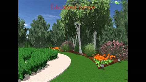1 acre backyard design adam s 1 2 acre english garden with orachard design youtube