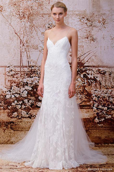 monique lhuillier bridal 2014 monique lhuillier fall 2014 wedding dresses wedding