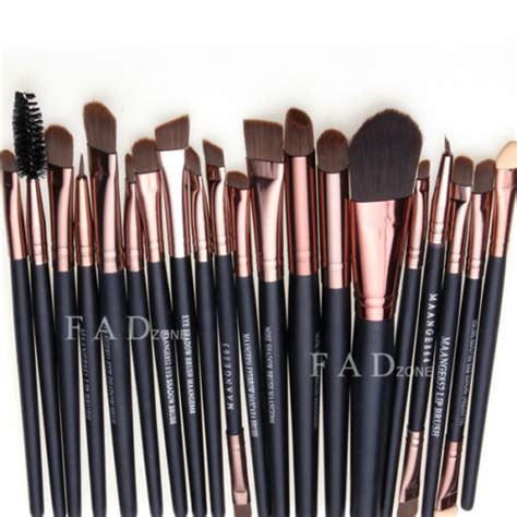 Set Of 7 Makeup Tool Set professional 20 pcs makeup brush set tools make up