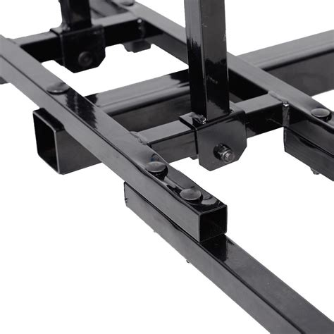 Rear Hitch Rack by Rear Upright Bike Bicycle Hitch Mount Universal Carrier