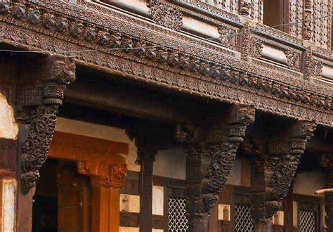 ahmedabad wood carving india wood building materials pols of old city ahmedabad metropolitan tourism hub