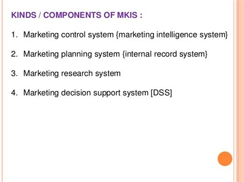 Research Papers On Marketing Information System by Chapter 1 Research Paper Parts Kerrykeatingcs