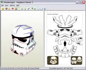 Iron Helmet Papercraft Pdf - stormtrooper my version paperbotz